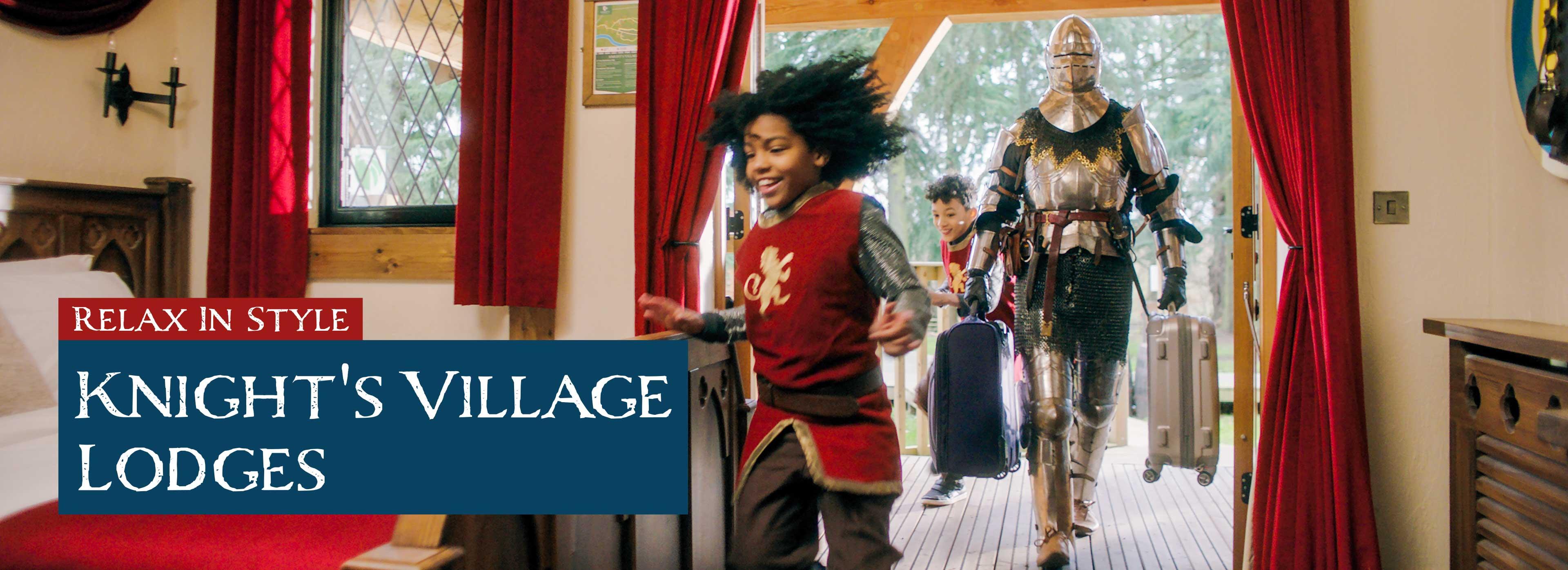 Knight's Village Lodges as Warwick Castle