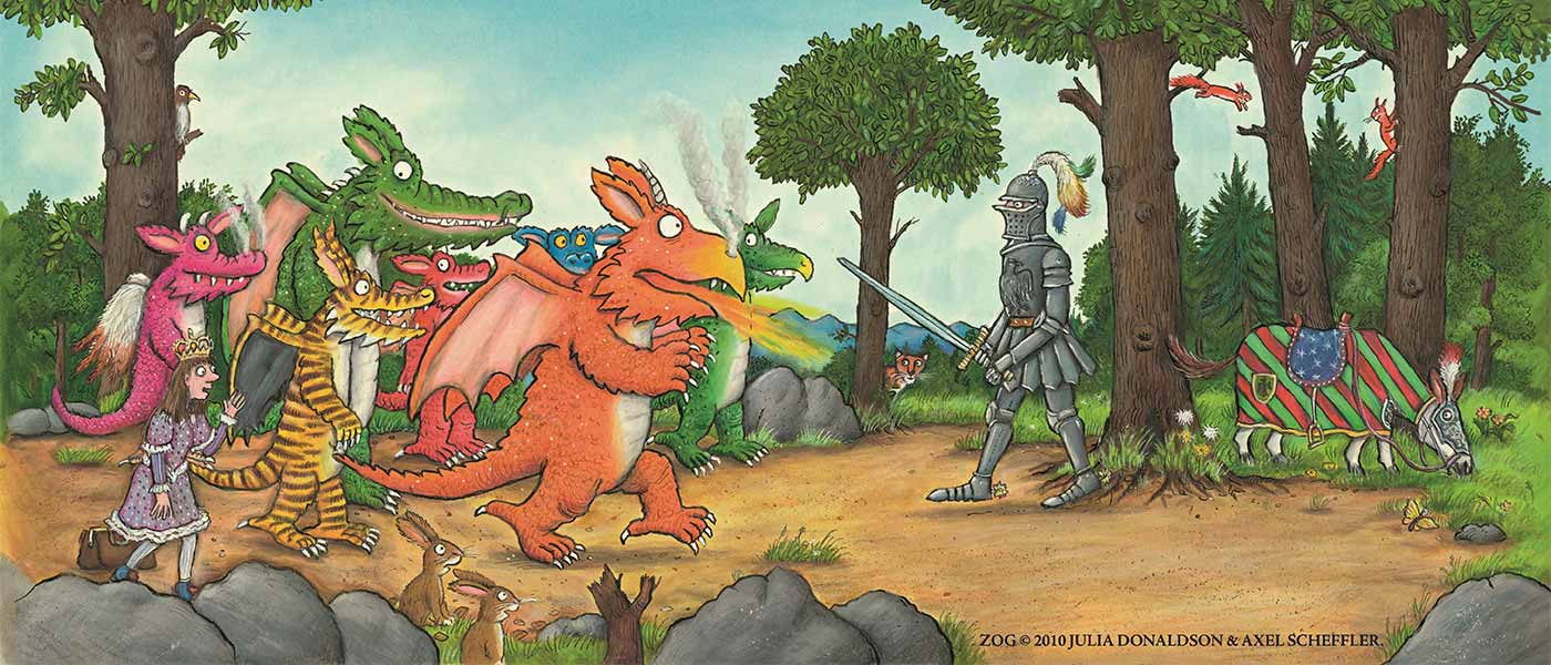 Zog and the Quest for the Golden Star