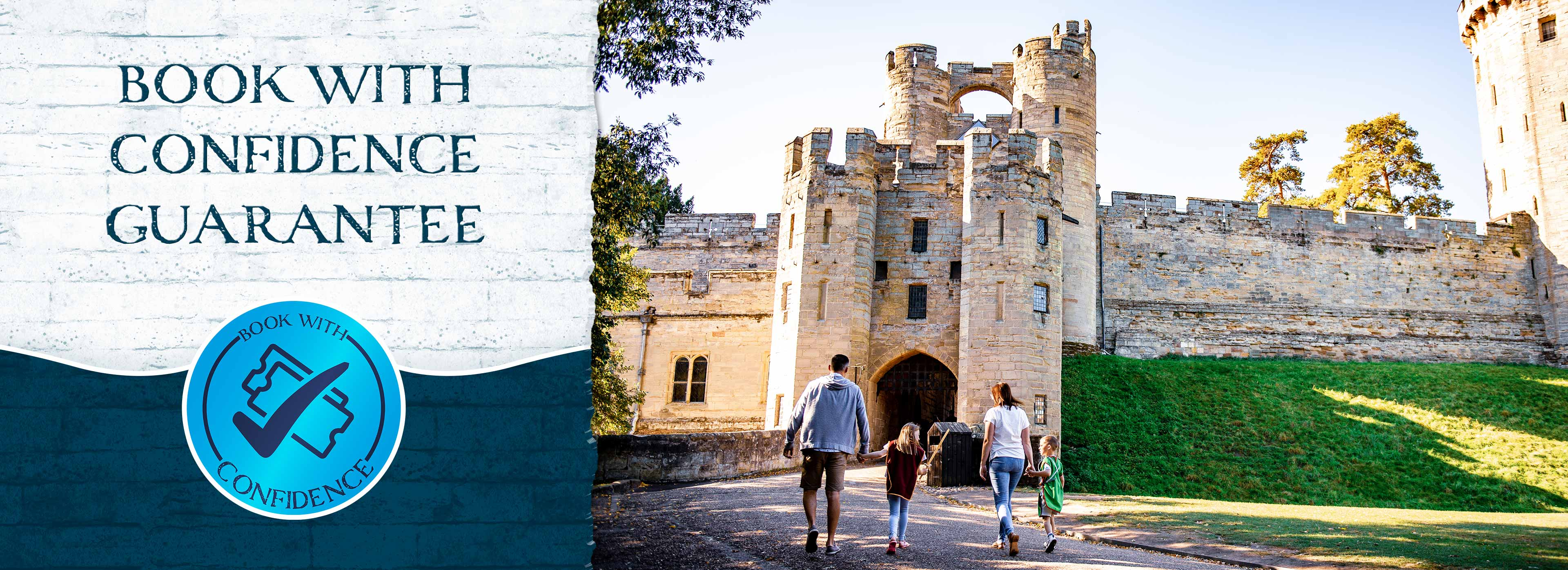 2-day Ininerary at Warwick Castle with FREE Second Day Castle Tickets