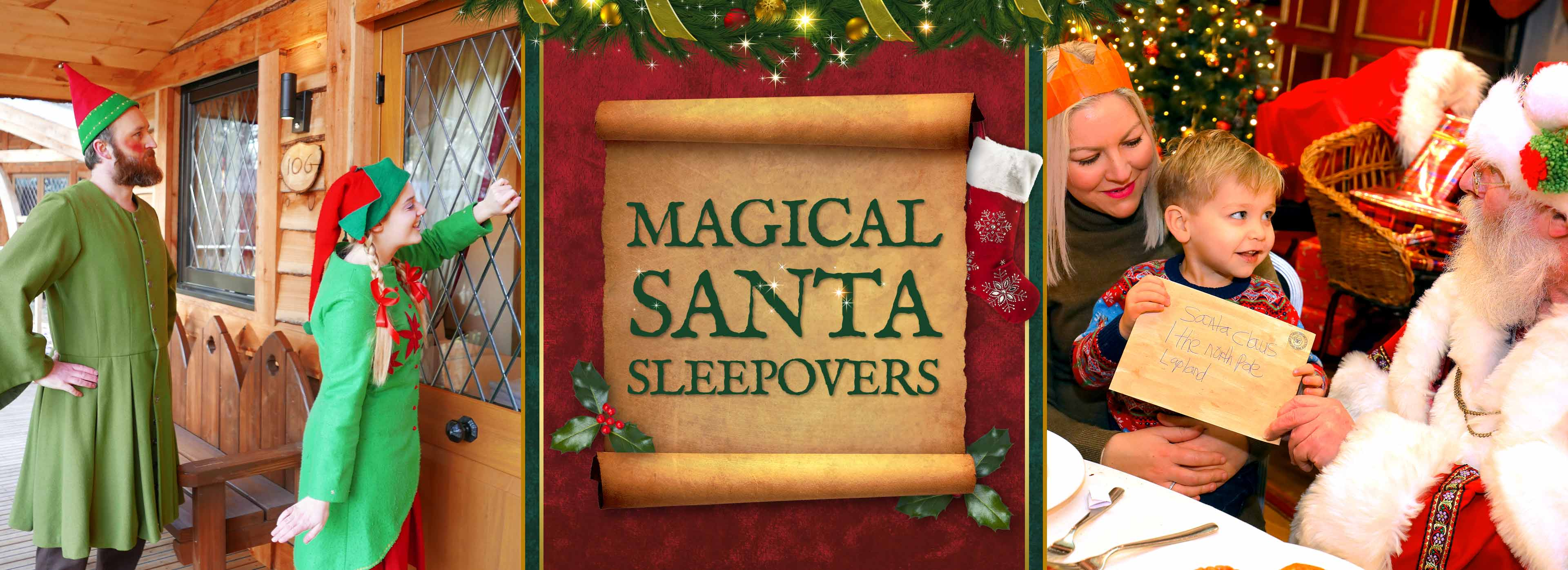 Santa Sleepovers 2019 at Warwick Castle