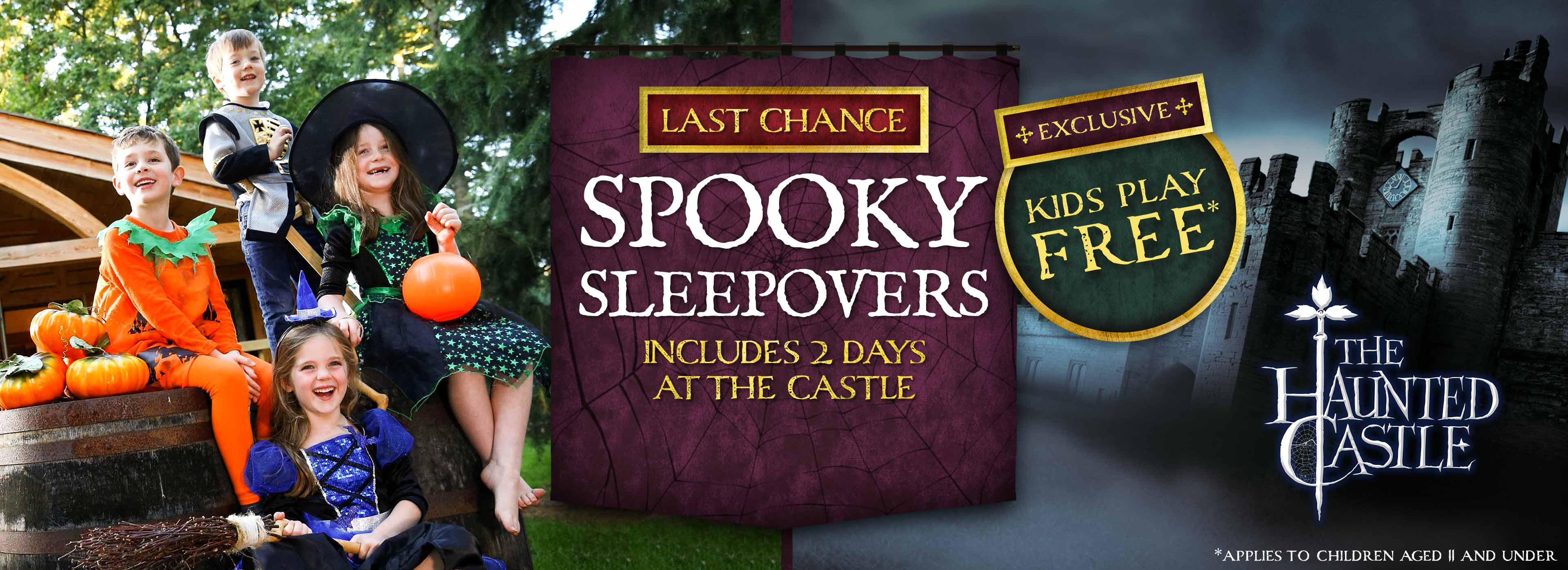 Kids Play FREE this Halloween at Warwick Castle