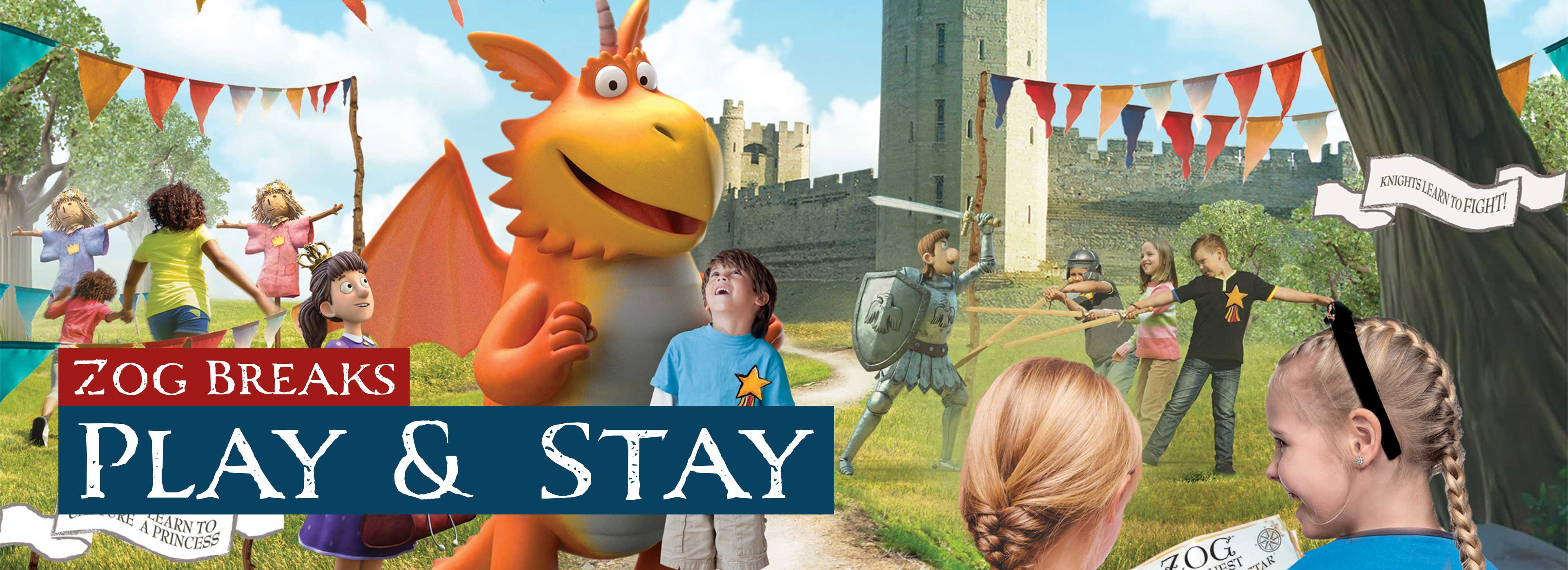 Zog Stay and Play short breaks at Warwick Castle
